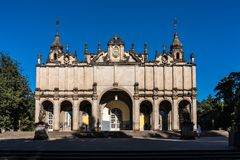 Holy Trinity Cathedral in Addis Ababa, Ethiopia. Africa royalty free stock photography