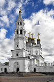 Holy Trinity Cathedral with a bell tower Stock Image