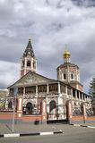 Holy Trinity Cathedral. Saratov, Russia. View of Holy Trinity Cathedral. Saratov, Russia Royalty Free Stock Photo