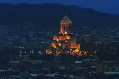 Holy Trinity Cathedral of Tbilisi Royalty Free Stock Images