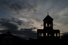 Holy Trinity Cathedral of Tbilisi Stock Photography