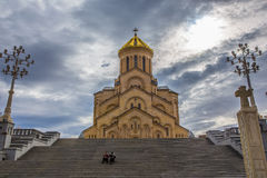 Holy Trinity Cathedral of Tbilisi Royalty Free Stock Photo