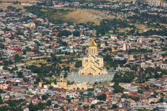 Holy Trinity Cathedral. Tbilisi, Georgia Stock Photo