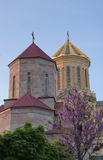 Holy Trinity Cathedral of Tbilisi Stock Images