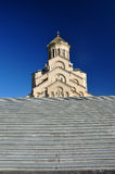 The Holy Trinity Cathedral of Tbilisi , Sameba Royalty Free Stock Image
