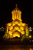 Holy Trinity Cathedral of Tbilisi Sameba Stock Image