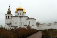 Holy Trinity Cathedral of Tyumen Stock Photo
