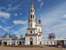 Holy Trinity Cathedral in Verkhotursk Kremlin stock photo