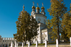 Holy Trinity Cathedral in Verkhoturye . Middle Urals Royalty Free Stock Photography