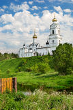 Holy Trinity cathedral in Vyazma (Russia) Royalty Free Stock Photography