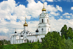 Holy Trinity cathedral in Vyazma (Russia) Stock Image