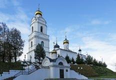 Holy Trinity Cathedral, Vyazma, Russia Royalty Free Stock Photo