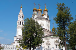 Holy Trinity Cathedral and White Kremlin Royalty Free Stock Photos