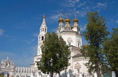 Holy Trinity Cathedral and White Kremlin Stock Photography