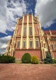 Holy Trinity catholic church, Gervyaty village, Belarus Royalty Free Stock Photos