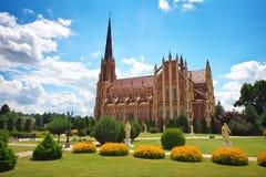 Holy Trinity catholic church, Gervyaty village, Grodno region Royalty Free Stock Photos