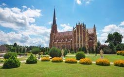 Holy Trinity catholic church, Gervyaty village, Grodno region Royalty Free Stock Image