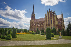 Holy Trinity catholic church Royalty Free Stock Photo