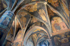Holy Trinity Chapel in Lublin. This is an interior view of Holy Trinity Chapel in Lublin (Poland). All frescos in the Chapel are original and have not been stock images