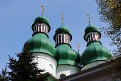 Free Holy Trinity Church And Monastery In Kitaevo, Kiev, Ukraine Royalty Free Stock Photo - 94797895