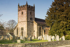 Holy Trinity Church, Ashford in the Water. Near Bakewell Derbyshire Royalty Free Stock Photo