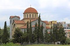 Holy Trinity Church Athens royalty free stock photography