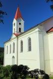 Holy Trinity church in Bily potok Stock Photo
