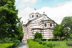 Holy Trinity Church, Bulgaria Stock Photo