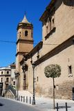Holy Trinity Church and Convent, Ubeda, Spain. Stock Photos