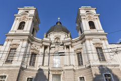 Holy Trinity Church facade in Salzburg, Austria Royalty Free Stock Photos