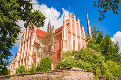 Holy Trinity Church in Gervyaty Royalty Free Stock Image