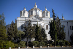 The Holy Trinity church in Jerusalem Royalty Free Stock Images