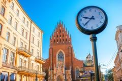 Holy Trinity church in Krakow Stock Image