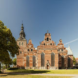 Holy trinity church Kristianstad Royalty Free Stock Photography