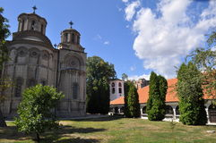 Holy Trinity Church Leskovac and Odzaklija Royalty Free Stock Image