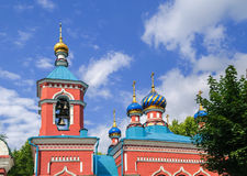 Holy Trinity Church in Miass, Chelyabinsk region Royalty Free Stock Images