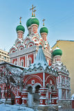 Holy Trinity Church in Nikitniki, Moscow Stock Images