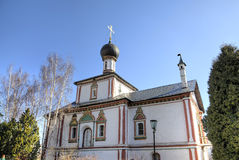 Holy Trinity church. Novo Golutvin monastery in Kolomna Kremlin. Stock Photo