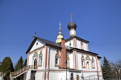 Holy Trinity church. Novo Golutvin monastery in Kolomna Kremlin. Royalty Free Stock Photography