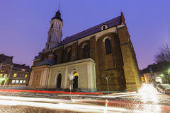 Holy Trinity church in Opole Royalty Free Stock Photography