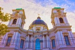 Holy Trinity Church in Salzburg, Austria Royalty Free Stock Photos
