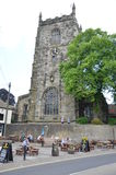 Holy Trinity Church in Skipton Stock Image
