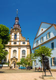 The Holy Trinity Church in Speyer Stock Photo