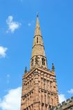 Holy Trinity Church Spire, Coventry. Royalty Free Stock Images
