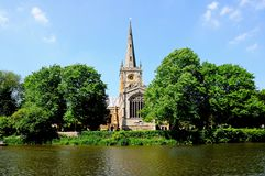 Holy Trinity Church, Stratford-upon-Avon. Royalty Free Stock Image