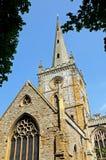 Holy Trinity Church, Stratford-upon-Avon. Stock Photos
