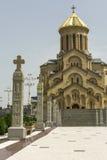 Holy Trinity Church in Tbilisi, Sameba Royalty Free Stock Image