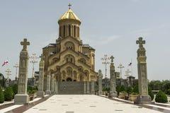 Holy Trinity Church in Tbilisi, Sameba Stock Photo