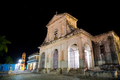 Holy Trinity Church, Trinidad, Cuba Stock Photo