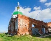 Holy Trinity Church in village Karacharovo near Murom Royalty Free Stock Images